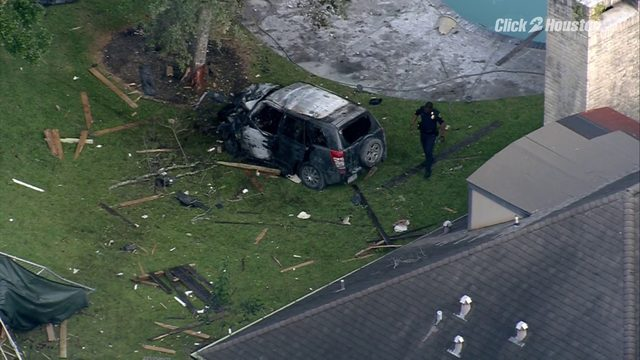SKY 2 over chase that ended with fiery crash