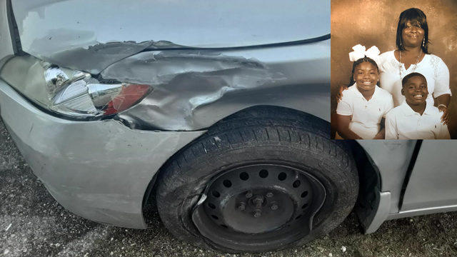 Mother devastated after car is destroyed in crash with man with no…