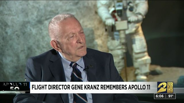 Flight director Gene Kranz remembers Apollo 11