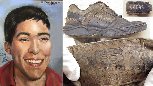 Cold case: Remains found in 2000; artist draws what victim may have looked like