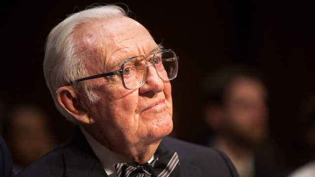 Former Supreme Court Justice John Paul Stevens dies at 99 after…