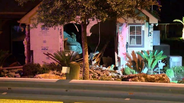 Man killed when car plows into home for second time