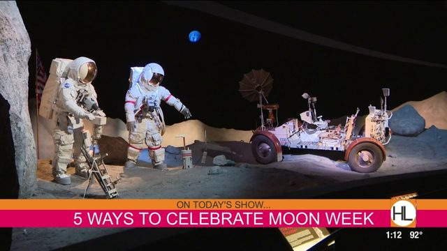 Top 5 things to do in Houston during moon week | HOUSTON LIFE | KPRC 2