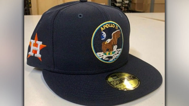 Houston Astros to celebrate 50th anniversary of Apollo 11 with special hats