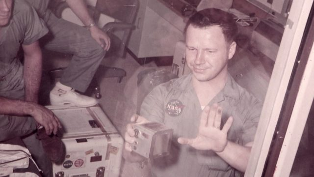 Meet first man to touch moon dust with his bare hand