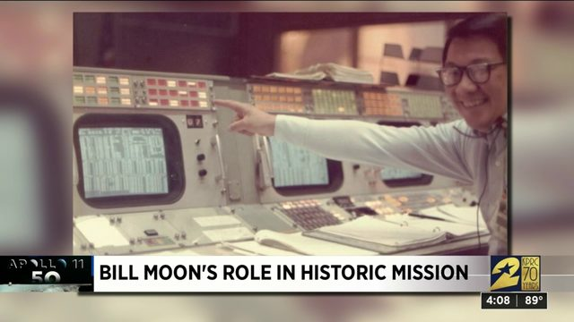 Bill Moon's role in historic Apollo 11 mission