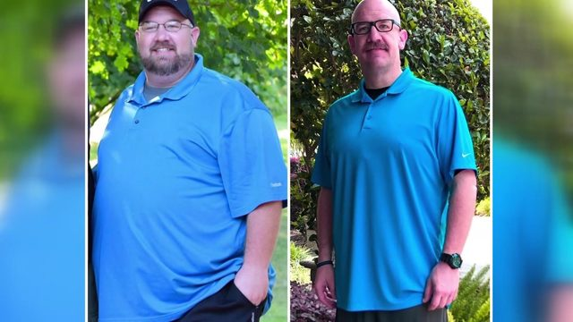 Man sheds more than 200 pounds to have better shot at his dream job as deputy