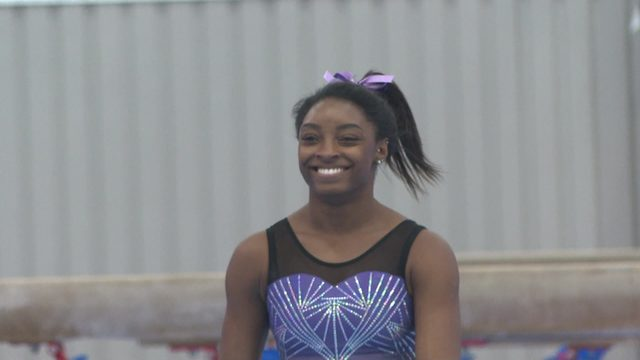 Simone Biles sets sights on 2020 Olympic Games in Tokyo