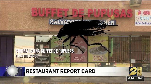 Restaurant Report Card: July 18, 2019