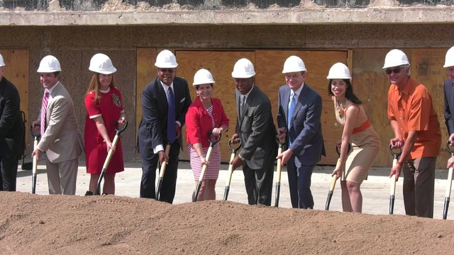 Groundbreaking ceremony held at old Sears building in midtown to…