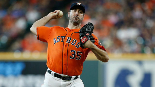 Verlander strikes out 12, Astros beat Rangers 4-3