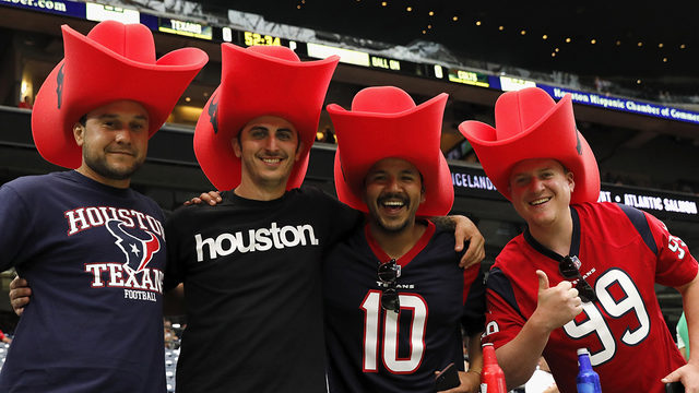 Bulls on parade! Here are the Texans' 2019 home game themes