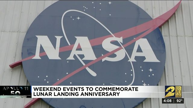Weekend events to commemorate lunar landing anniversary