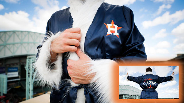 Did Ric Flair have an Astros robe? No, but you can