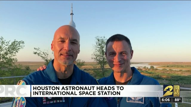 Houston astronaut heads to International Space Station