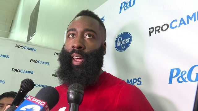 James Harden offers thoughts on departed teammate Chris Paul