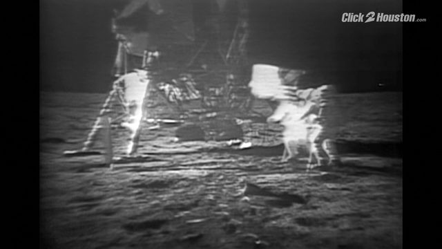 Neil Armstrong first steps on the moon