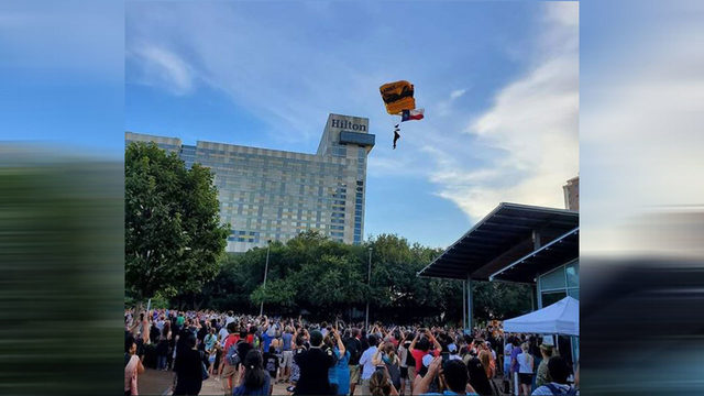 NASA celebrates 50th anniversary of Apollo 11 at Discovery Green