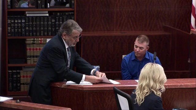 What happened when neighbors testified in David Temple's retrial