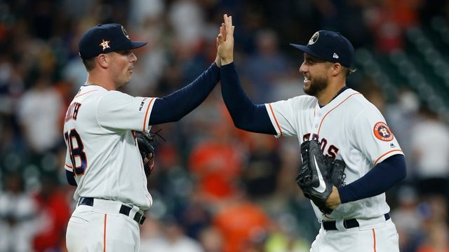Gerrit Cole leads Astros to 11-1 win over Athletics