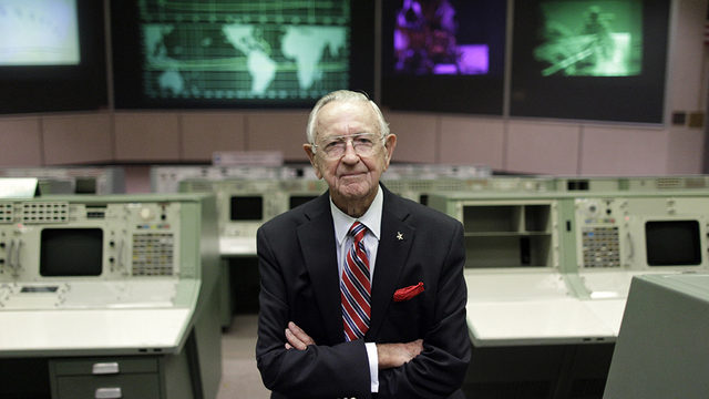Christopher Kraft, NASA's first flight director, has died