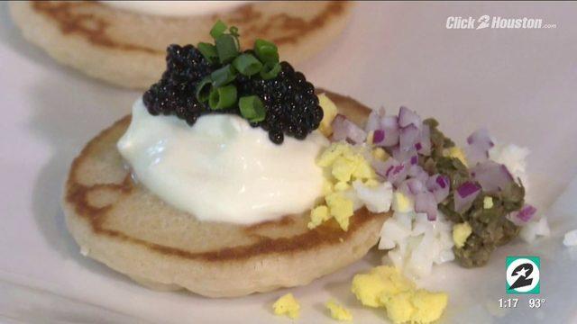 National Caviar Day at Houston's Emmaline