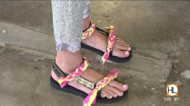 Styling the sporting sandals trend | HOUSTON LIFE | KPRC2