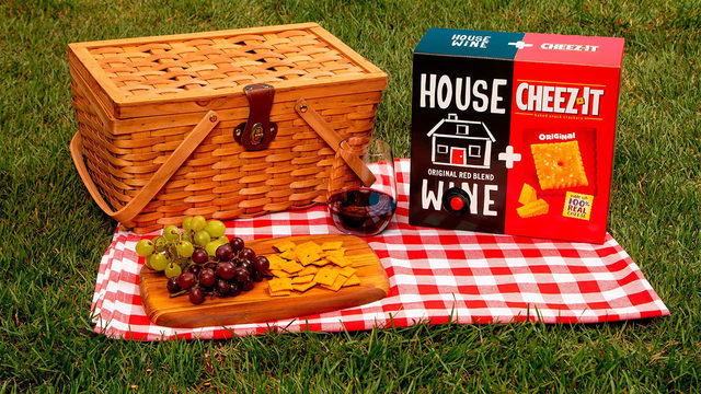 Cheez-It and a boxed wine company are teaming up. Here's why