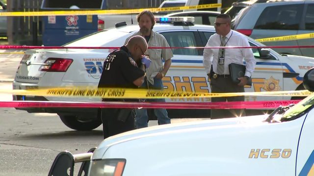 2 men shot to death during suspected robbery, investigators say