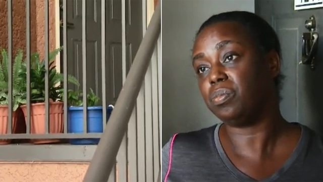 Baby found abandoned on woman's doorstep