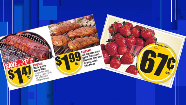Grocery Deals: You'll want to head to H-E-B this week