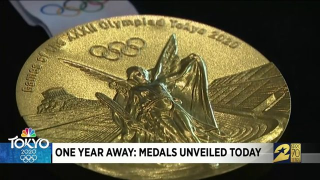 One year away: 2020 Tokyo Olympic medals unveiled today
