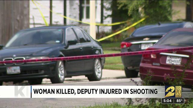 Woman Killed, Deputy Injured in Shooting