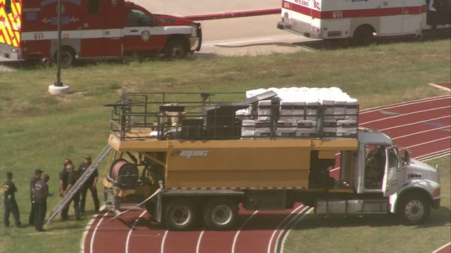 2 found dead inside tank truck at high school track field, HFD says