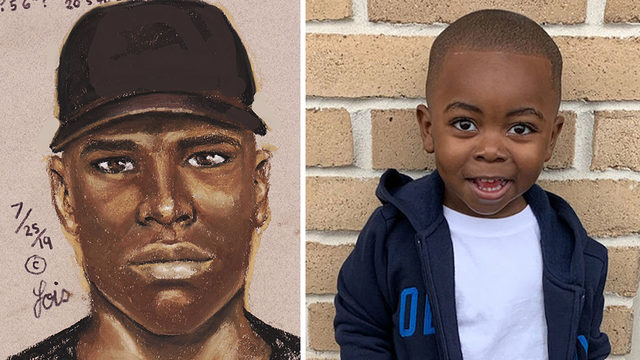 Sketch released of suspect in shooting death of 2-year-old Ivory West