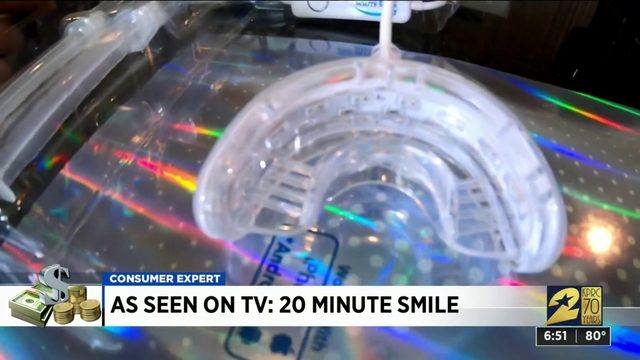 As seen on TV: 20 minute white smile