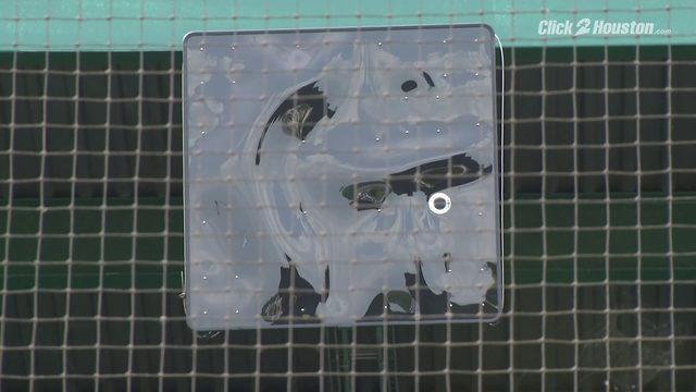 Skeeters implement robot umpire