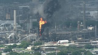 Fire extinguished at ExxonMobil plant in Baytown