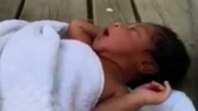 Newborn found on porch