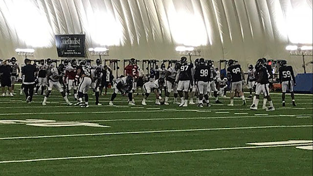Camp Texans Day 7: Running backs cash in on goal line opportunities