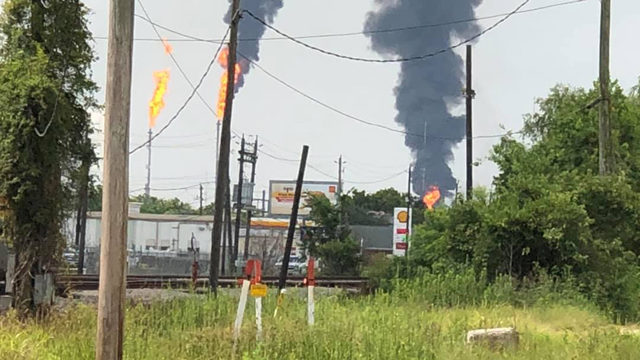 LIVE STREAM: Flames, smoke pour from Exxon plant in Baytown
