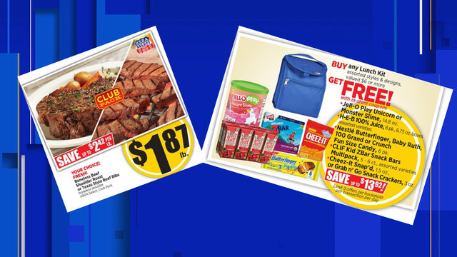 Grocery deals: Prep for the school year at H-E-B this week