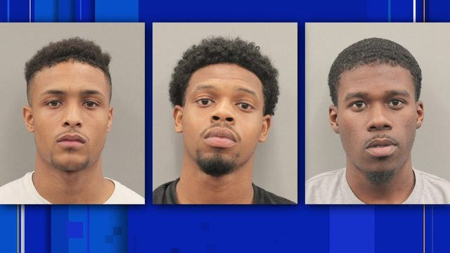 3 alleged gang members accused of stealing from the elderly