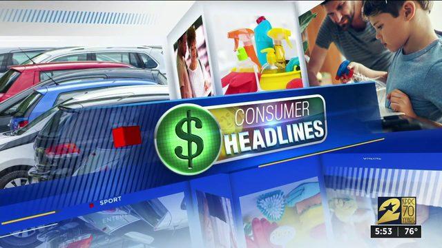 Consumer headlines for Aug. 1, 2019