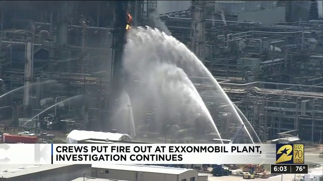 Harris County expected to file lawsuit against ExxonMobil plant