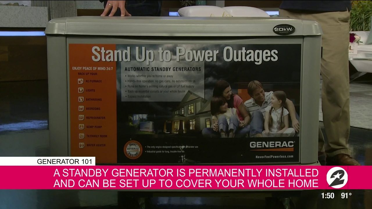 Be prepared with a generator this hurricane season