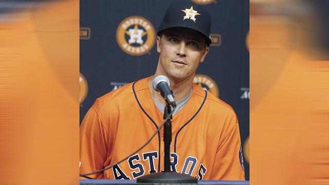 Another Ace: Astros introduce Zack Greinke, who's eager to watch and learn