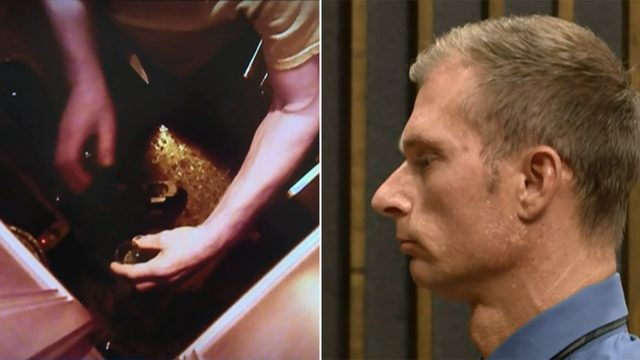 Man sentenced to 60 weekend days in jail after wife caught him on camera…