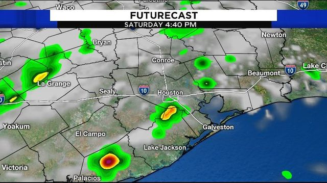 Grab your umbrella: Afternoon storms expected after hot and humid morning