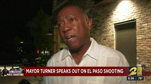 Houston mayor reacts to El Paso mass shooting